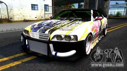 Toyota Chaser Seulbi Lee Itasha Drift for GTA San Andreas