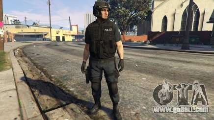 LSPD SWAT Ped Model 1.2.2 for GTA 5
