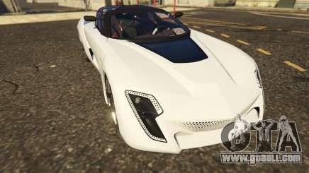 Italy Bertone Mantide 2010 for GTA 5