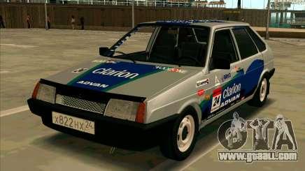 VAZ-2109 RАLLY SKIN for GTA San Andreas