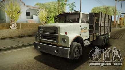GTA 5 Vapid Scrap Truck v2 for GTA San Andreas