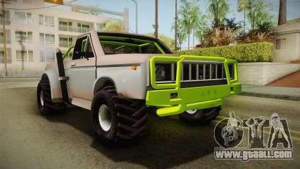 Sandy Racer v.1.5 for GTA San Andreas