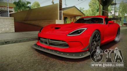 Dodge Viper ACR 2016 for GTA San Andreas