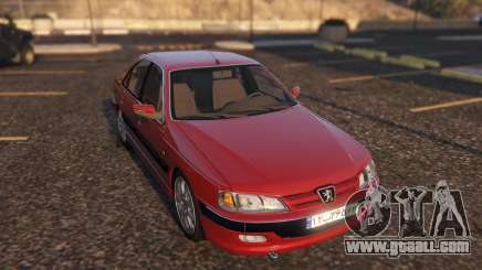 Peugeot Pars for GTA 5