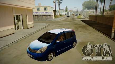 Nissan Note 2008-2009 for GTA San Andreas