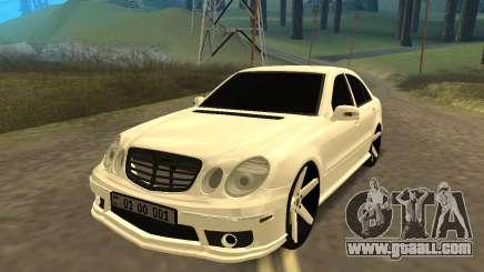 Mersedes-Benz E55 Armenian for GTA San Andreas