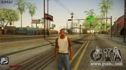 New hud 2.0 for GTA San Andreas