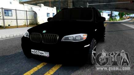 BMW X5M E70 2011 for GTA San Andreas