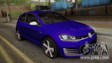 Volkswagen Golf 7R 2015 Beta V1.00 for GTA San Andreas