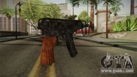 CoD 4: MW - Left vz. 61 Remastered for GTA San Andreas second screenshot