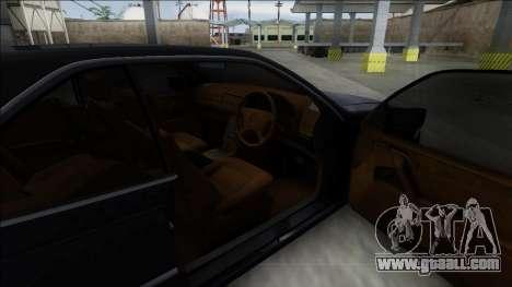 1993 Mercedes-Benz 600SEC for GTA San Andreas back left view