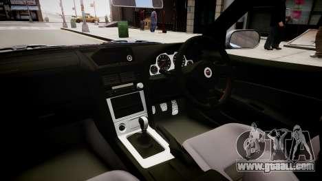 Nissan Skyline R34 Paintjob by eXTaron for GTA 4 inner view