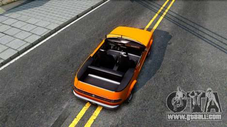 GTA V Declasse Rhapsody Cabrio Style for GTA San Andreas back view