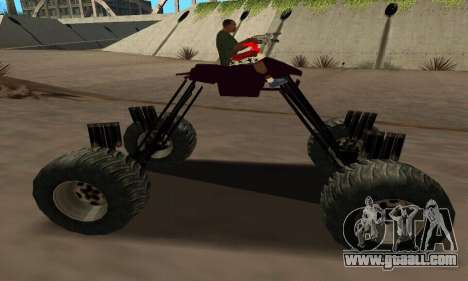 Monster Quad for GTA San Andreas left view