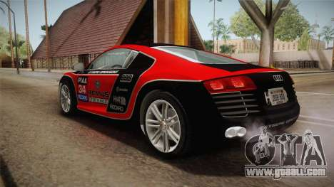 Audi Le Mans Quattro 2005 v1.0.0 YCH for GTA San Andreas wheels
