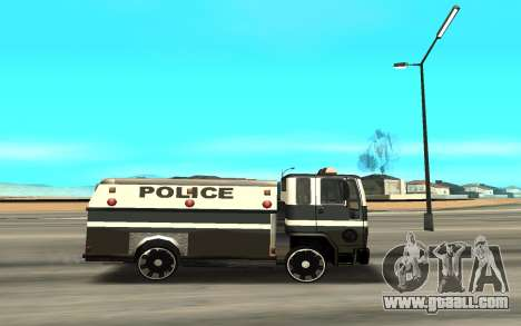 DFT30 Enforcer for GTA San Andreas left view