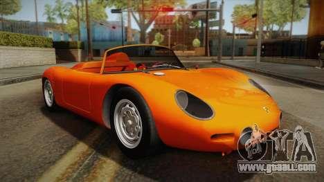 Porsche 718 Spyder RS 1960 for GTA San Andreas