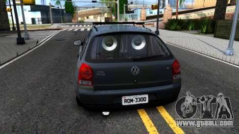 Volkswagen Gol G4 for GTA San Andreas back left view