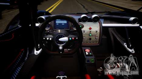 Pagani Zonda R Evolucion Final for GTA 4 inner view