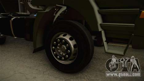 Iveco Trakker Hi-Land 4x2 Cab High v3.0 for GTA San Andreas back view