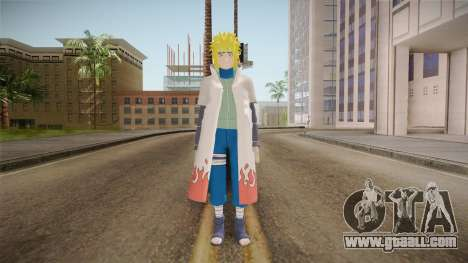Minato Hokage Outfit (Sage Mode) for GTA San Andreas second screenshot