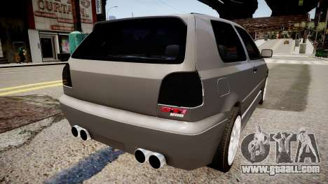 Volkswagen Golf 3 GTI for GTA 4 back left view