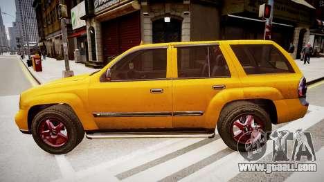 Chevrolet TrailBlazer v2.0 for GTA 4 left view