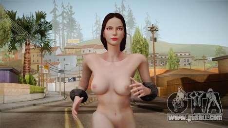 God of War 3 - Aphrodite Nude v1.1 for GTA San Andreas