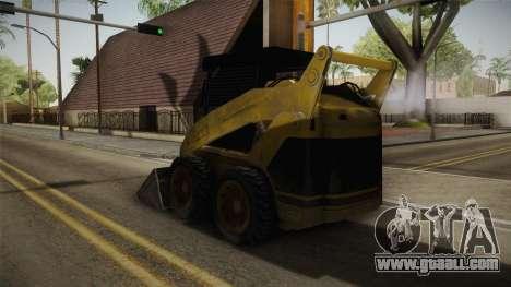 Demolition Company - Skid Steer Loader for GTA San Andreas back left view