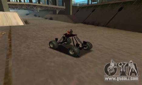 Monster Quad for GTA San Andreas right view