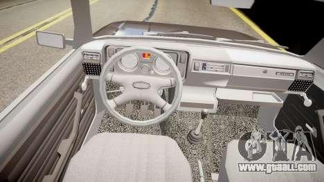VAZ 2104 for GTA 4 inner view