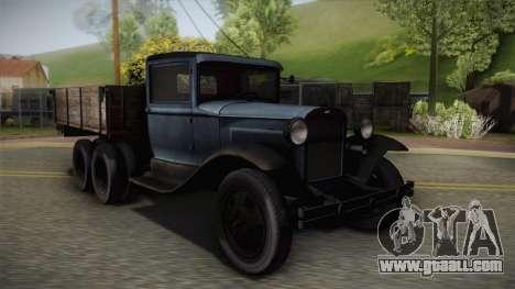 GAZ-AAA 1934 for GTA San Andreas