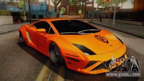 Lamborghini Gallardo Liberty Walk for GTA San Andreas