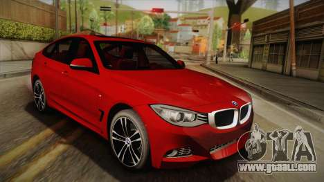 BMW 335i F34 Gran Turismo for GTA San Andreas