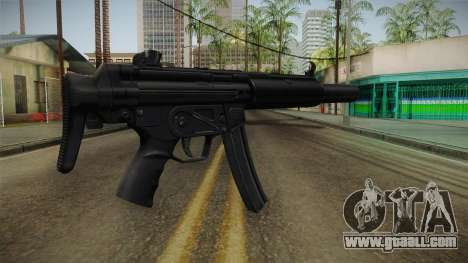 MP5 SD3 for GTA San Andreas second screenshot