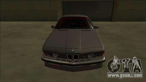BMW M6 E24 Drift for GTA San Andreas right view
