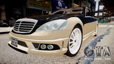 Carlsson Aigner CK65 RS Blanchimont 2008 for GTA 4