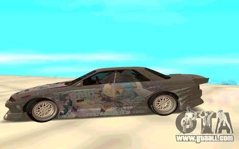Nissan Skyline GT-R for GTA San Andreas left view