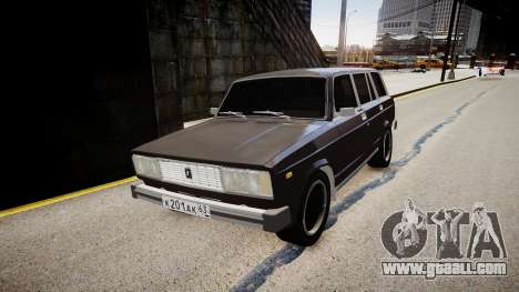 VAZ 2104 for GTA 4 right view