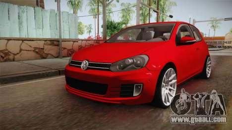 Volkswagen Golf 1.6 for GTA San Andreas back left view