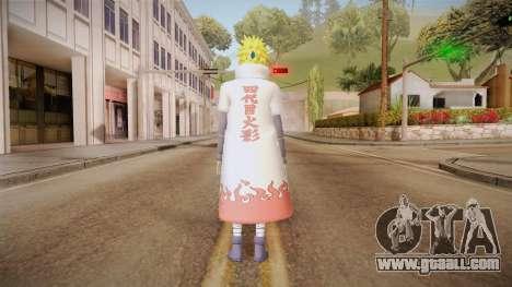 Minato Hokage Outfit (Sage Mode) for GTA San Andreas third screenshot