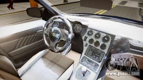 Alfa Romeo 159 Carabinieri for GTA 4 inner view