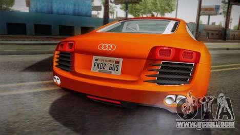 Audi Le Mans Quattro 2005 v1.0.0 YCH PJ for GTA San Andreas back view