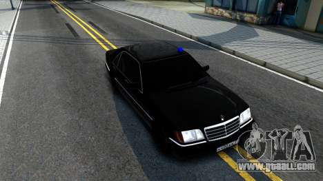 Mercedes-Benz W140 400SE for GTA San Andreas right view