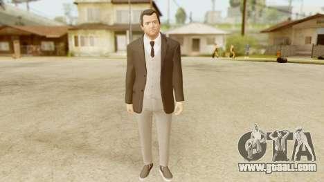 GTA 5 Michael New Suit for GTA San Andreas