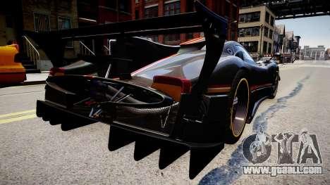 Pagani Zonda R Evolucion Final for GTA 4 left view