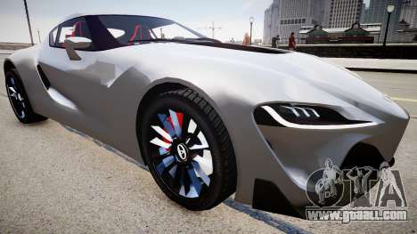 Toyota FTO-1 Concept 2014 for GTA 4