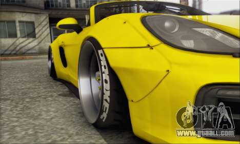 Porsche Boxter GTS L3DWork for GTA San Andreas right view