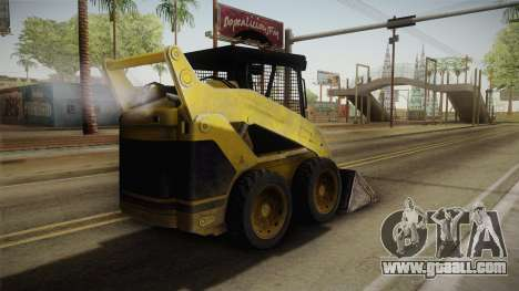 Demolition Company - Skid Steer Loader for GTA San Andreas left view