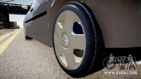 Volkswagen Golf G3 for GTA 4 back view